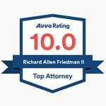 Rick Friedman Avvo Highest Rating