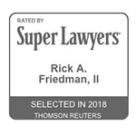 Rick Friedman Super Lawyers 2018